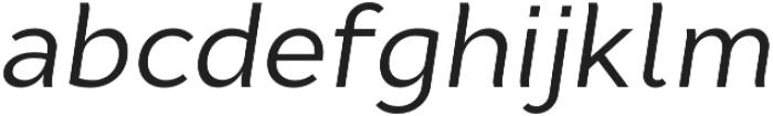 Cyntho Pro Italic otf (400) Font LOWERCASE