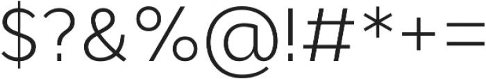 Cyntho Pro Light otf (300) Font OTHER CHARS