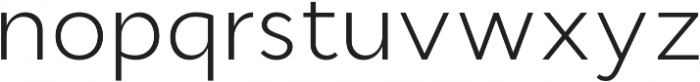 Cyntho Pro Light otf (300) Font LOWERCASE