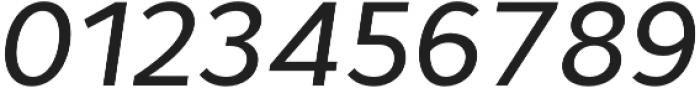 Cyntho Pro Medium Italic otf (500) Font OTHER CHARS