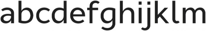 Cyntho Pro Medium otf (500) Font LOWERCASE