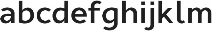 Cyntho Pro SemiBold otf (600) Font LOWERCASE