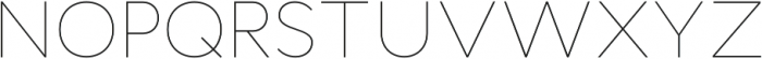 Cyntho Pro Thin otf (100) Font UPPERCASE