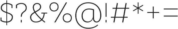 Cyntho Slab Pro ExtraLight otf (200) Font OTHER CHARS