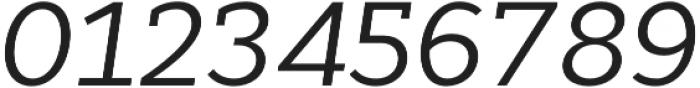 Cyntho Slab Pro Italic otf (400) Font OTHER CHARS