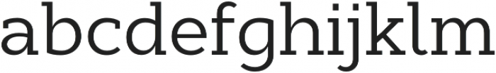 Cyntho Slab Pro Regular otf (400) Font LOWERCASE