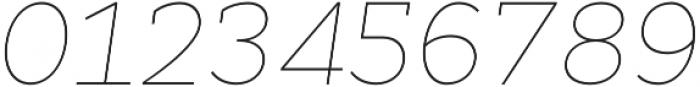 Cyntho Slab Pro Thin Italic otf (100) Font OTHER CHARS