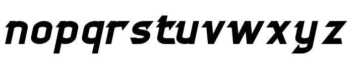 CYBERTOOTH Bold Italic Font LOWERCASE
