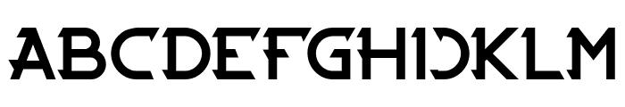 CYBERTOOTH-Light Font UPPERCASE