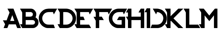 CYBERTOOTH Font LOWERCASE
