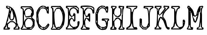 Cyanide Breathmint Font LOWERCASE