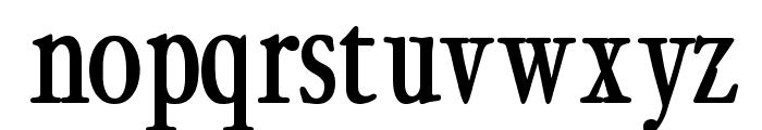 CybapeeBlack Font LOWERCASE