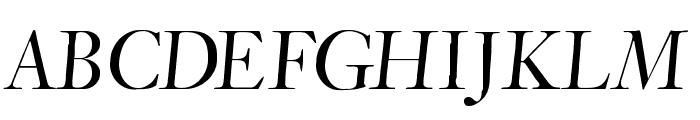 CybapeeTX-heightOblique Font UPPERCASE