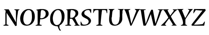 Cybatiqua Font UPPERCASE