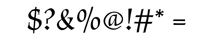 CyberCaligraphic Font OTHER CHARS