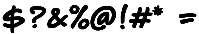 CyberComix Bold Font OTHER CHARS