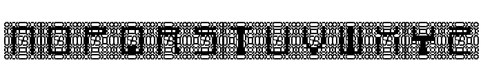 Cybernaut Delta Regular Font UPPERCASE