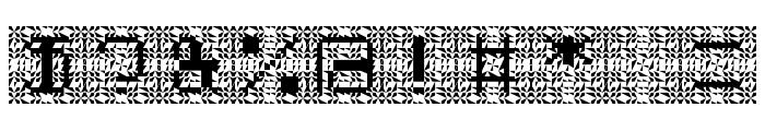 Cybernaut Theta Regular Font OTHER CHARS