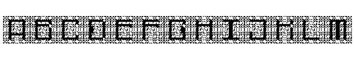 Cybernaut Theta Regular Font UPPERCASE