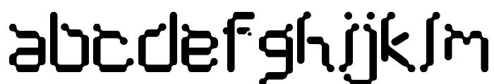 Cybernet  Font LOWERCASE