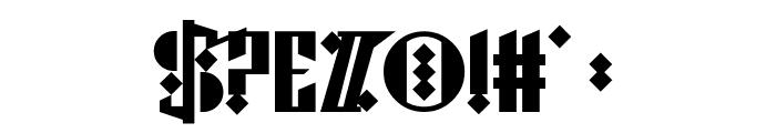 Cyberpunk Sealion Font OTHER CHARS
