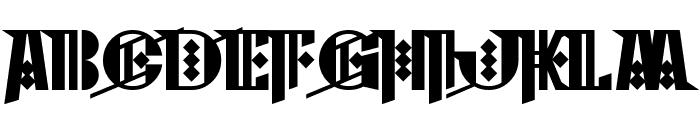 Cyberpunk Sealion Font UPPERCASE