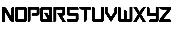 Cyberverse Condensed Bold Font UPPERCASE
