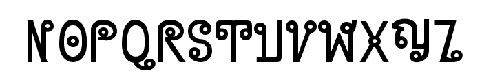 Cyclin Font UPPERCASE