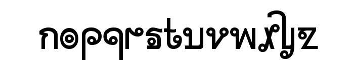 Cyclin Font LOWERCASE
