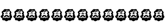Cyclop Font UPPERCASE