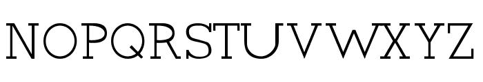 Cyen Font UPPERCASE