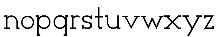 Cyen Font LOWERCASE