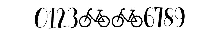 Cykelsmed DEMO Regular Font OTHER CHARS