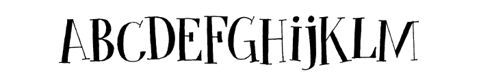 Cykelsmed DEMO Regular Font LOWERCASE