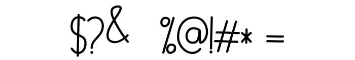 Cylla Font OTHER CHARS