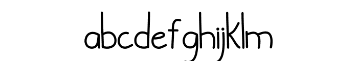 Cylla Font LOWERCASE