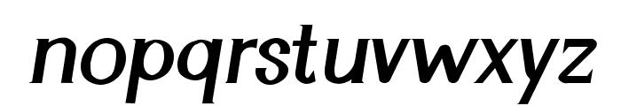Cyn Italic Bold Font LOWERCASE