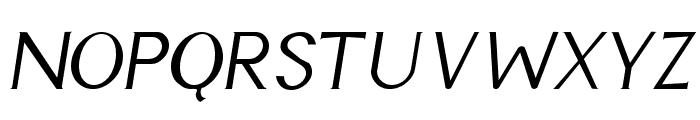 Cyn Italic Font UPPERCASE