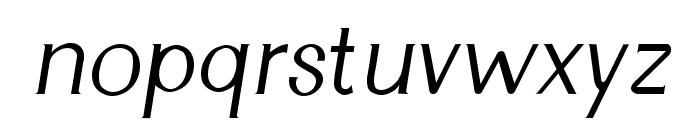 Cyn Italic Font LOWERCASE