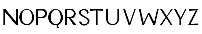 Cyn Regular Font UPPERCASE