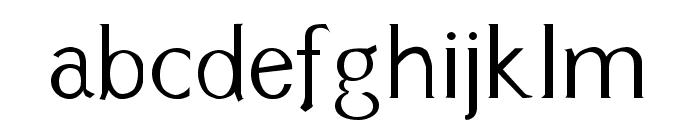 Cyn Regular Font LOWERCASE
