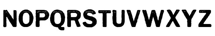 CynocelPoster-Regular Font UPPERCASE