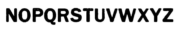 CynocelPoster-Regular Font LOWERCASE