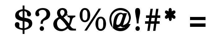 CyrCauc   Medium Font OTHER CHARS