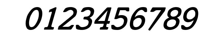 Cyrillic Italic Font OTHER CHARS