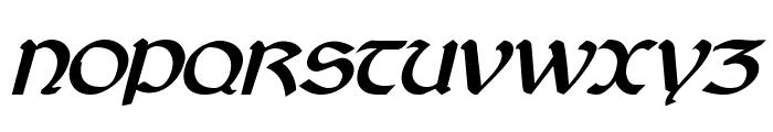Cyrodiil Bold Italic Font UPPERCASE
