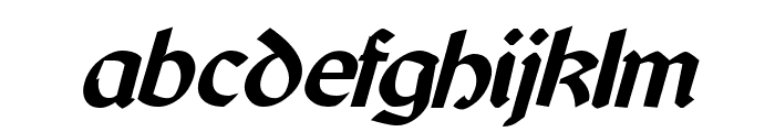 Cyrodiil Bold Italic Font LOWERCASE