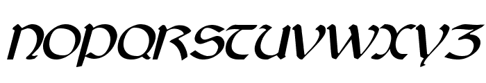 Cyrodiil Italic Font UPPERCASE