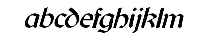 Cyrodiil Italic Font LOWERCASE