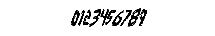 Cyrus the Virus Condensed Italic Font OTHER CHARS